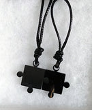 Fit together Puzzle Piece Necklace