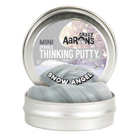 Crazy Aaron's Thinking Putty Mini Tin - Snow Angel