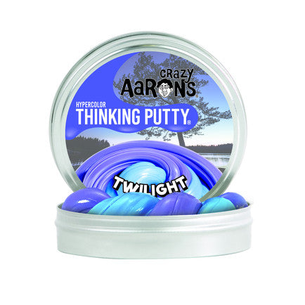 Crazy Aaron's Thinking Putty - Twilight Heat Sensitive Hypercolour