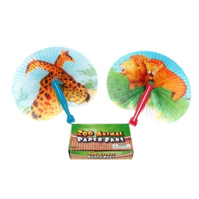 Folding Fan Zoo Design