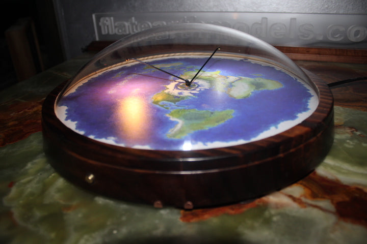 Flat Earth Models Small Enclosed Worlds To Help Educate