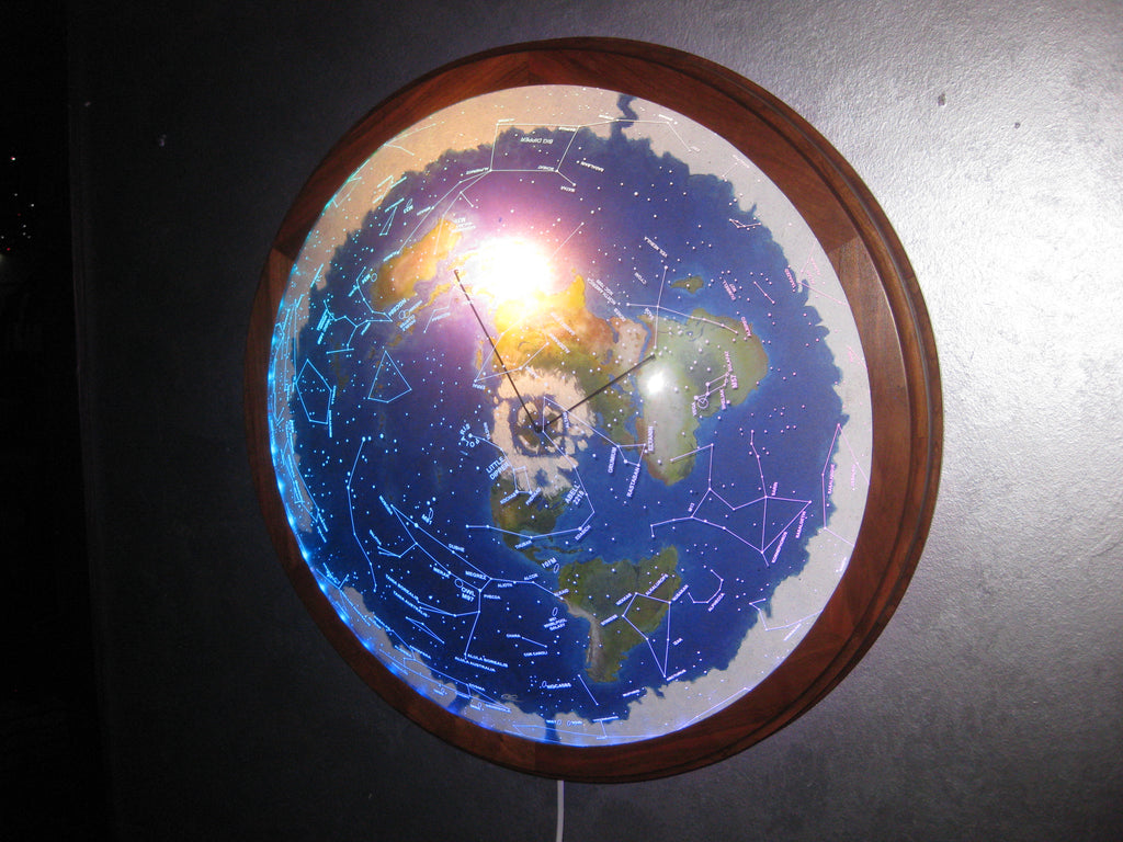 "#85   23"" Cherry frame w/ rotating dome"