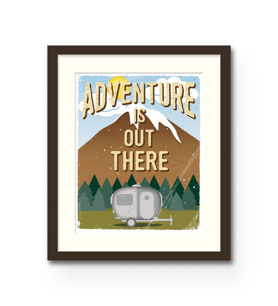 """Adventure Is Out There"" Print"