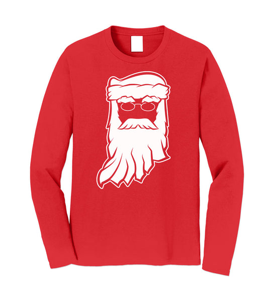 Santa Clause Indiana Red Long Sleeve Tee