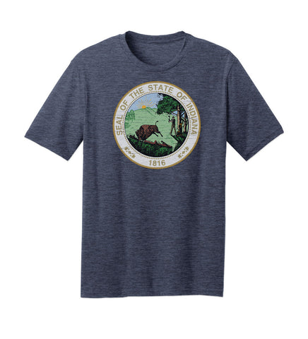 Indiana State Seal Tshirt