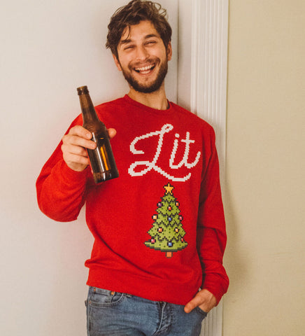 LIT Red Christmas Sweatshirt