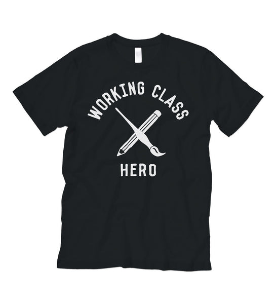 """Working Class Hero - ARTIST"" Black Tee"