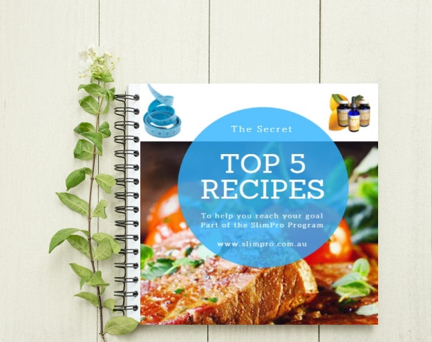 SlimPro 5 Top Secret Recipes e-Book