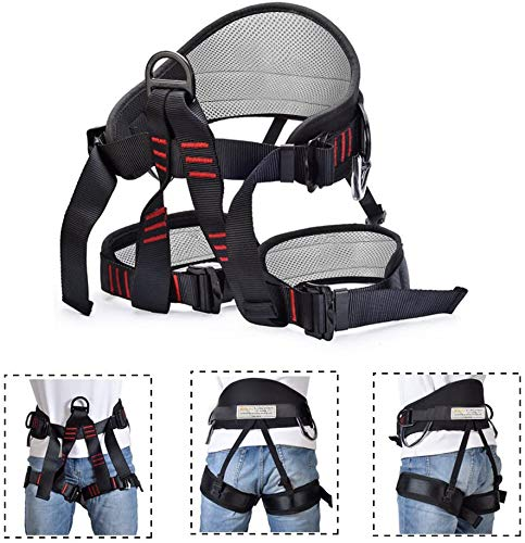 Protect Waist Safety Harness Details about  /Weanas Thicken Climbing Harness Wider Half Body H