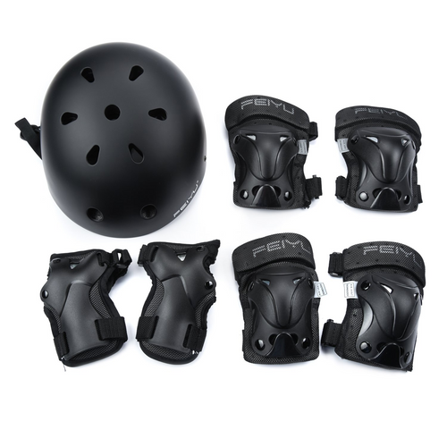 Weanas Helmets for 3-14 Years Kids Youth Adjustable Sports Protective Gear Set - WEANAS