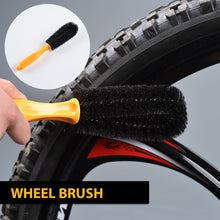 Weanas 7pcs Bike Cleaning Tools Set, 7 in 1 Cleaning Set - WEANAS