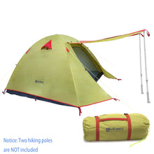 Weanas™ Waterproof Double Layer 1 2 3 4 Person 3 Season Backpacking Tent - WEANAS™