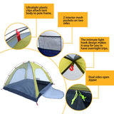 Weanas™ Waterproof Double Layer 1 2 3 4 Person 3 Season Backpacking Tent