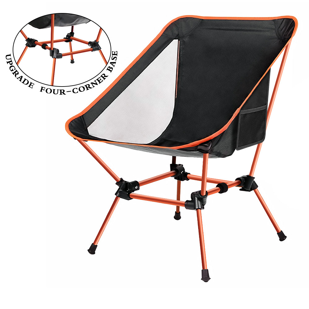 Portable Folding Camping Chair | Ultra Stable Compact For Fishing & Camping - WEANAS