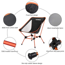 Weanas Portable Folding Camping Chair | Ultra Stable Compact for Outdoor Sports - WEANAS™