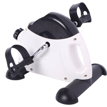 Portable Home Use Hands and Feet Trainer Mini Exercise Bike White & Black - WEANAS™