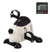 Portable Home Use Hands and Feet Trainer Mini Exercise Bike White & Black - WEANAS