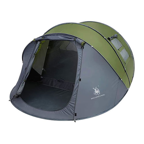 Weanas Easy Pop Up Tents, Instant Automatic 6 Person Family Camping Tents with Carry Bags - WEANAS