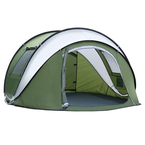 Weanas Instant Automatic 2-4 Person Family Camping Tents Easy Quick Setup with Carrying Bag - WEANAS™