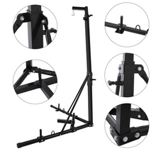 Weanas Folding Heavy Bag Stand, Portable Sandbag Rack for Home Fitness - WEANAS