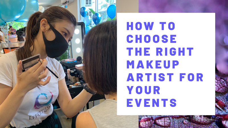 How to choose the right makeup artist for your events
