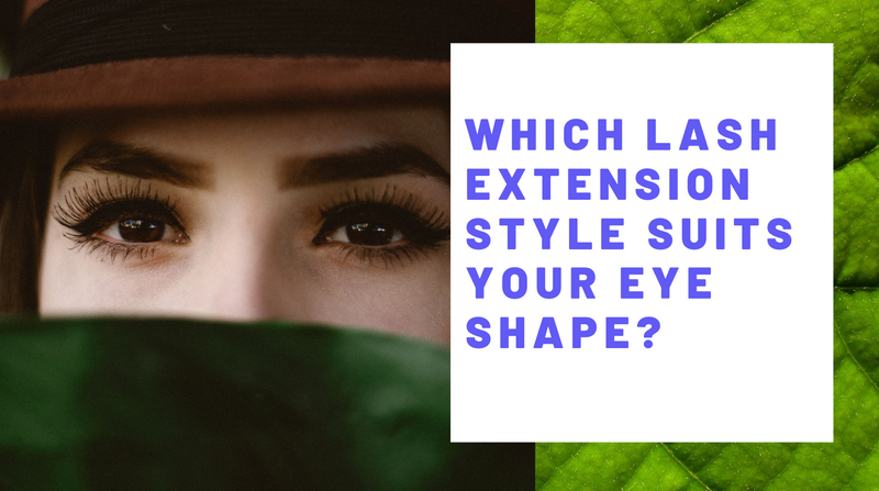 Which lash extension style suits your eye shape?