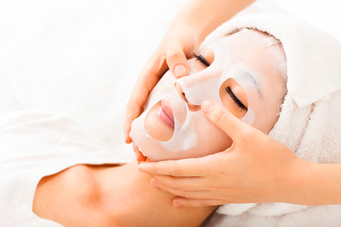 home facial treatment