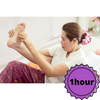 Home massage for foot (1 hour)