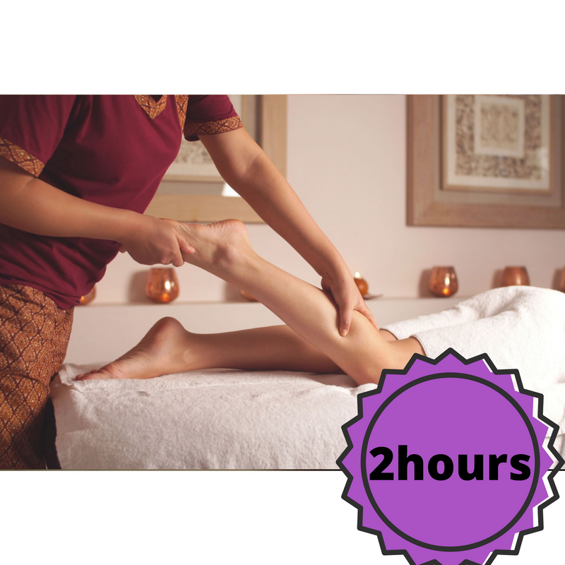 Effortless Thai Swedish Body Massage (2 hours)