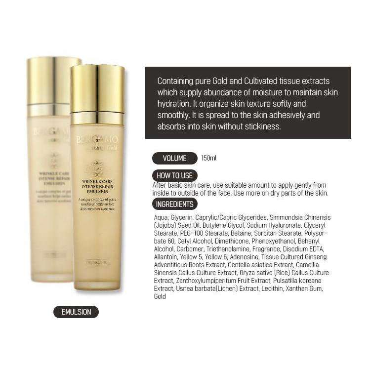 Bergamo Luxury Gold Collagen - Single item - Effortless