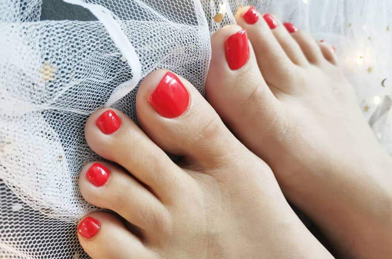 Gel Manicure Pedicure w/out Foot SPA