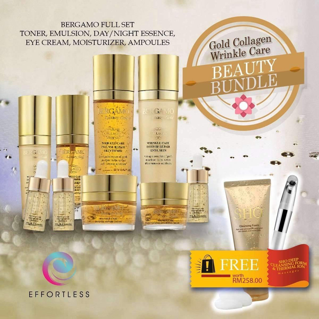 Beauty Bundle - Gold Collagen Wrinkle Care - Effortless
