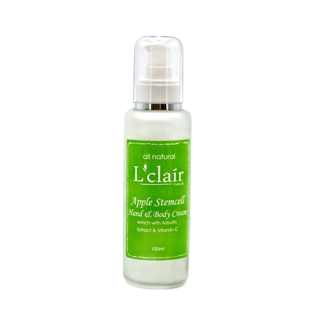 L'Clair Apple Stemcell Lotion Hand & Body cream (100ml) - Effortless