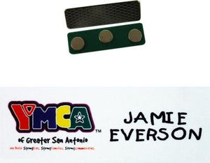 Magnetic Name Tag