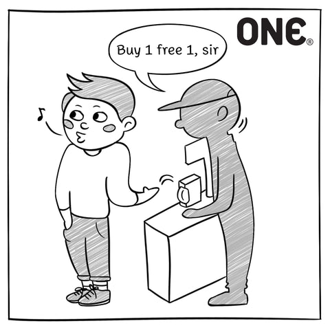 Buy One Get One Promotion - Image 1