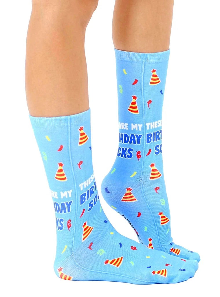 Birthday Crew Socks