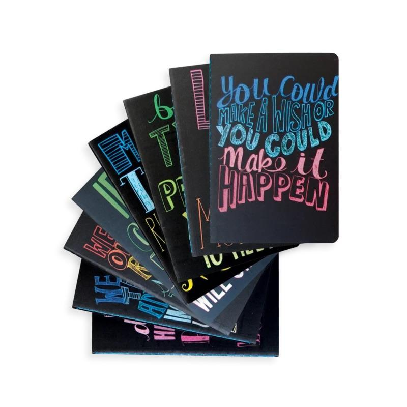 Quotations Mini Pocket Journals-Set of 8