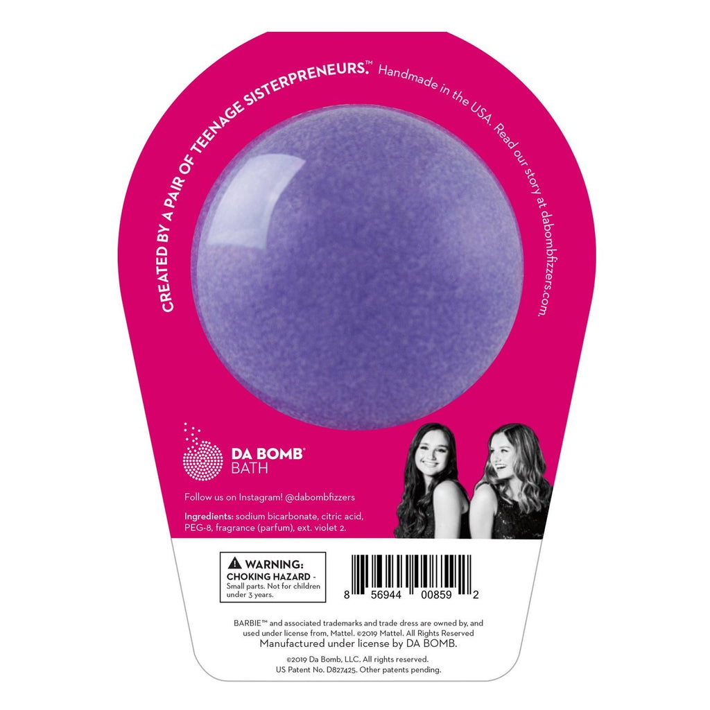 Barbie Purple Bath Bomb