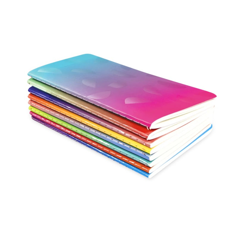 Ombre Mini Pocket Pal Journals-Set of 8