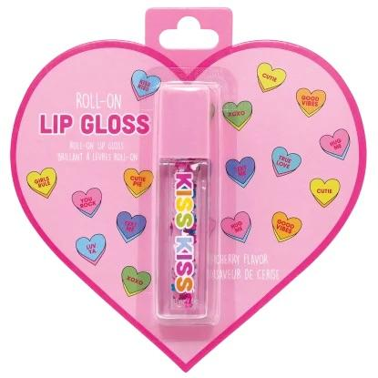 Floating Hearts Roll On Lip Gloss