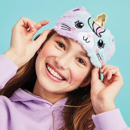Caticorn Furry Eye Mask