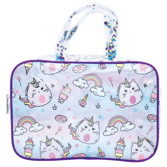 Caticorn Large Cosmetic Bag
