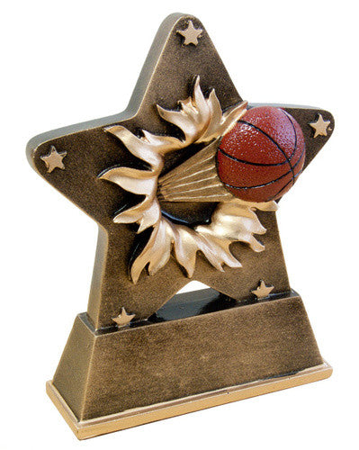 Resin Basketball Star Burst