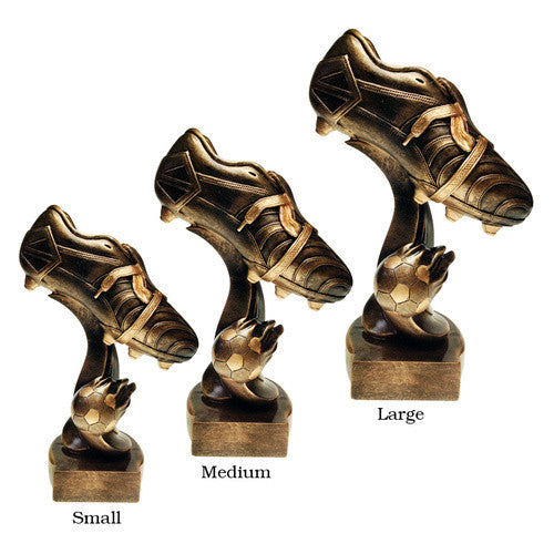Resin Golden Boot Champions Trophy