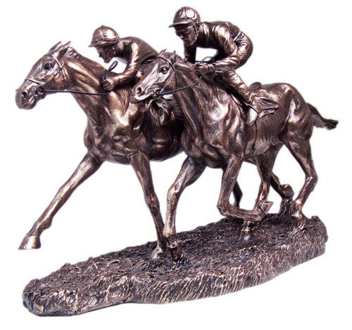 Resin Horse Racing Double