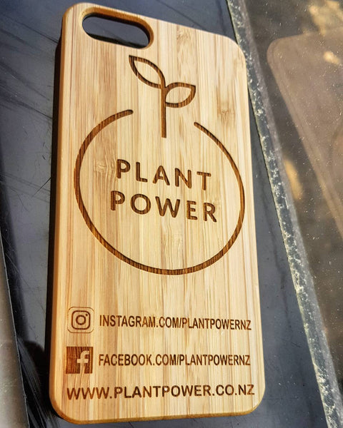 Apple Phone bamboo backed phone cases