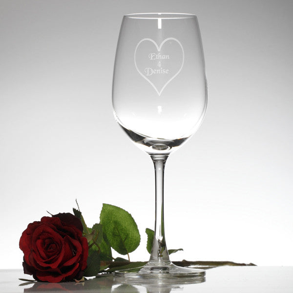 Madison White Wine Glass