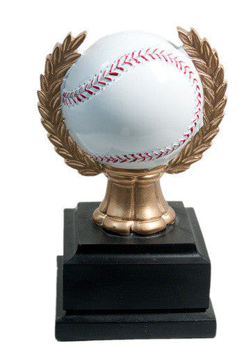 Resin Softball & Wreath Award - MariaJames