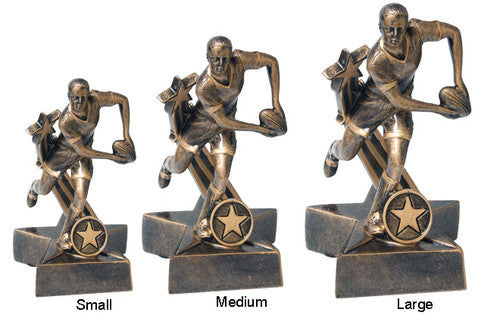 Resin Super Star Rugby-Male Award