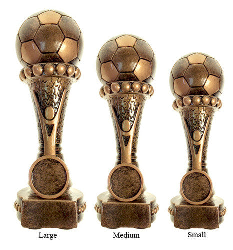 Resin Soccer Dream Trophy - MariaJames